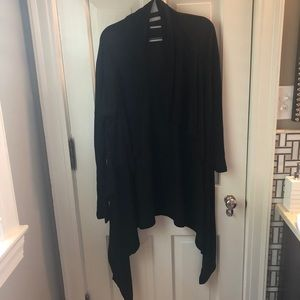 Banana Republic long black cardigan, size S